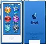 M-Player iPod Nano 7ª generación 16 gb azul (auriculares genéricos y cable de carga) empaquetado en caja blanca
