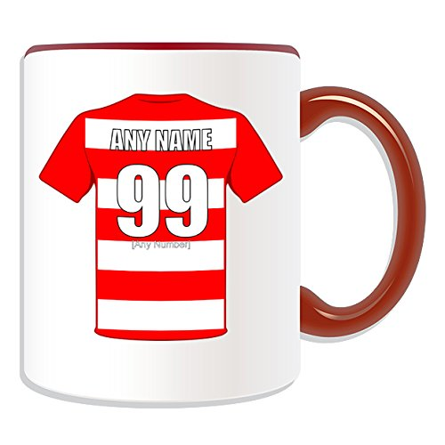 Personalised Gift - Hamilton Academical Mug (Football Design Theme, Colour Options) - Any Name/Message on Your Unique Mug - The Accies Club