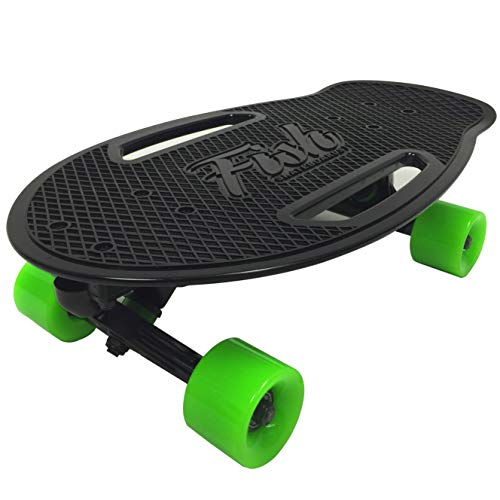 EasyGoProdcuts Fish Adults and Kids Skateboard – Mini Cruiser – Light Weight...