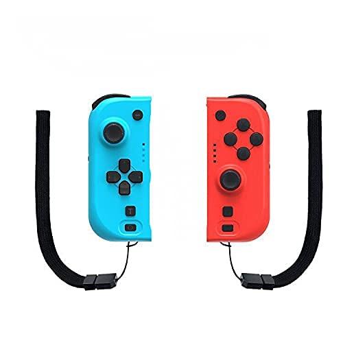 Manettes Switch ,Manette Pro sans Fil pour Switch Remplacer Joy Switch Contrôleur, Bluetooth/ 6-Axis/Vibration/Macro pour switch pour Joys Switch