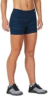 "2XU Womens Fitness 4"" Compression Shorts WA4482b-P"