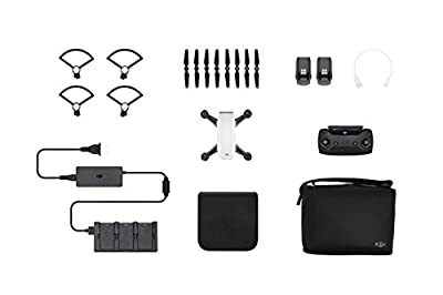 DJI Spark Drone - Alpine White (UK)
