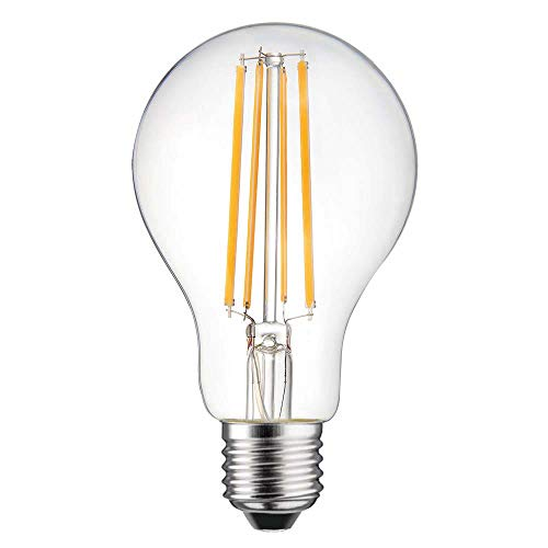 LED Filament Leuchtmittel Birnenform 13W = 110W E27 1520lm warmweiß 2700K (klar)