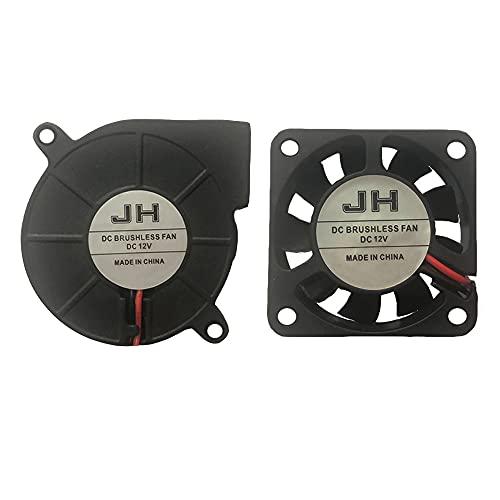 Impresora 3D Ventilador de refrigeración Extrusora Ventilador Ventilador DC 12V 40x10 50x15 Ventiladores Eewolf