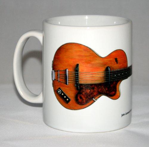 Gitarre-Becher. John Lennon's Hofner Club 40