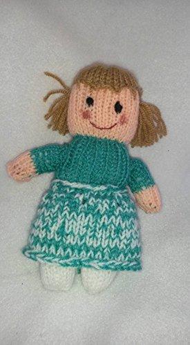 Strickanleitung Puppe Karla: auch für Anfänger gedacht