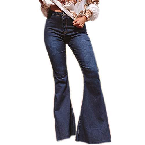 A/N Herbst/Winter Damenmode High Waist Stretch Flared Jeans