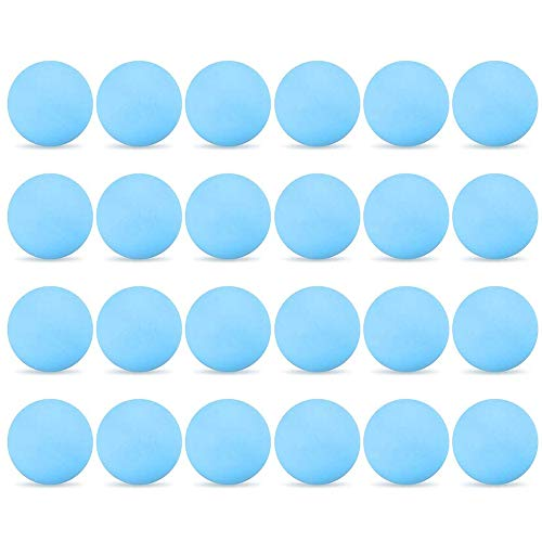 Lixada Premium Tischtennisbälle 24 Stücke 3-Sterne 40mm Tischtennisbälle Tischtennisbälle Amateur Weiterbildung Übungsbälle (Blau)