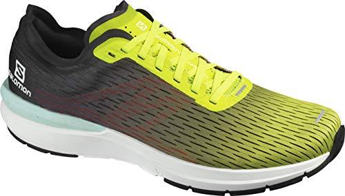 Salomon, Sonic 3 Accelerate - Tenis de correr para hombre, amarillo (Amarillo/Blanco/Negro), 47 EU