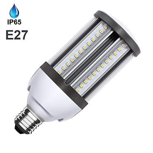 Lámpara LED Alumbrado Público Corn E27 18W IP65 Bombilla Farolas Iluminación Calles (K6000)