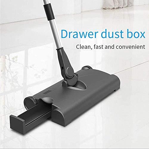 ODODDE Tragbare Hand-Push Sweeper Haushalt drahtlose Hand-Push Besen Set Kehrmaschine Handbuch Boden- und Teppichkehrmaschine