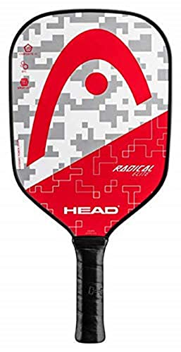 HEAD Fiberglass Pickleball Paddle - Radical Elite Paddle with Honeycomb Polymer Core & Comfort Grip