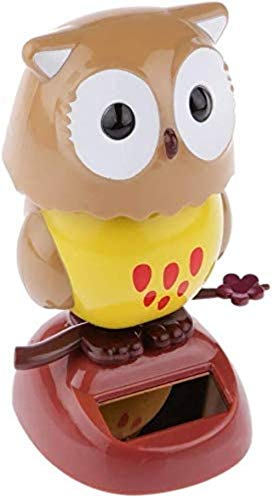 TXXM Toy Swing Dancing Toy For Car Home Decoration Ornament for Car Dashboard Office Desk Home Décor Bobbling Dancing Toy (Color : Owl)