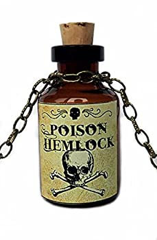 Moon Maiden Jewelry Bottle Pendant  Poison Hemlock