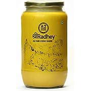 Shree Radhey Certified A2 Gir Cow Ghee - Gluten Free - (Traditionaly Hand Churned)