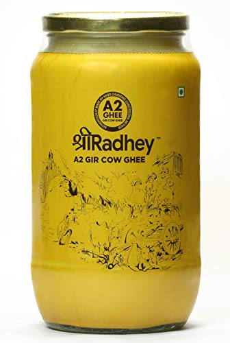 Shree Radhey A2 Gir Cow Ghee 1000 ml