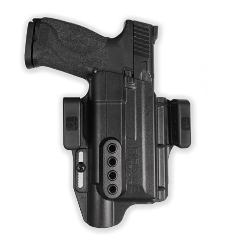 Holster for S&W M&P 9,40 2.0 (4'-4.25') with Surefire X300...