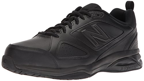 New Balance Men's 623 V3 Casual Comfort Cross Trainer, Black, 12 W US