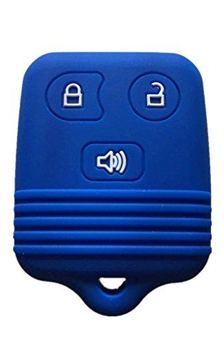 Rpkey Silicone Keyless Entry Remote Control Key Fob Cover Case protector Replacement Fit For Ford Lincoln Mercury Mazda CWTWB1U331 GQ43VT11T CWTWB1U345 8L3Z15K601B 8L-3Z-15K-601B