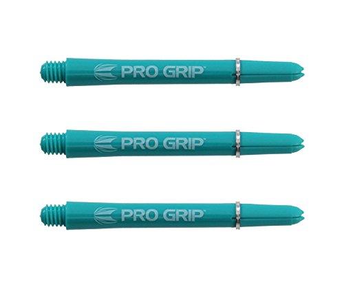Target Pro Grip Dart Shafts Aqua, 3 Stück (Medium - MED)