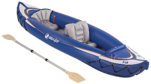 Sevylor Fiji Travel Pack Kayak (Blue,2-Person)