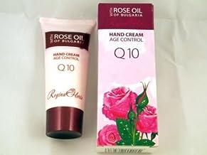 Regina Floris Hand Cream Q10 Lux Anti-Age Rose OIL of Bulgaria Paraben Free 50ml