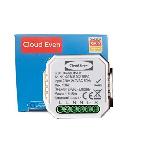 modulo interruttore Bluetooth mini diy 150w per luce LED dimmerabili app Smart Life/Tuya Timer light switch deviatore compatibile con Alexa Echo 1/2 way 220V