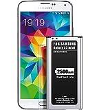 EMNT-Batterie pour Samsung Galaxy S5mini Remplacement Amélioré 2500 mAh pour Batterie S5 Mini Dernière Technologie