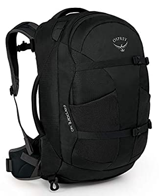 Osprey Farpoint 40 Travel Backpack, Black, Medium/Large