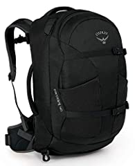 Large, lockable U-zip duffel-style access to main compartment - 40L total volume Meets carry-on size restrictions for most airlines (Size Medium/Large: 21H X 14W X 9D inches) Lockable zipper access to padded laptop & tablet sleeve (fits up to most 15...