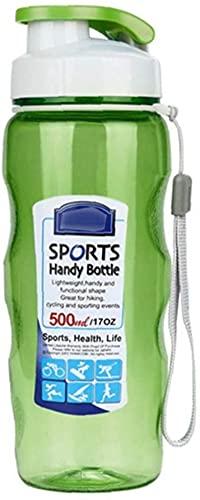 Estilo único de vaso de bebida Botella de agua deportiva 500 ml...