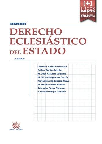 Derecho Eclesiástico del Estado 2ª Edición 2016 (Manuales de Derecho Canónico, Romano e Historia del Derecho)