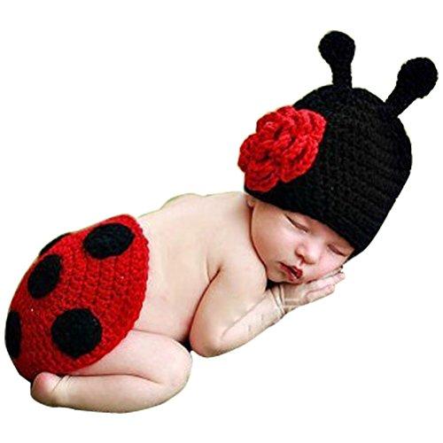 Odziezet Beb Conjuntos Sombrero Gorro de Punto + Pantalones Disfraz de Animales Unisexo Fotografa Recin Nacido Ropa de Traje