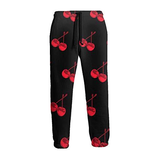 Amanda Horatio Cherry - Pantalones deportivos deportivos para hombre grandes y altos