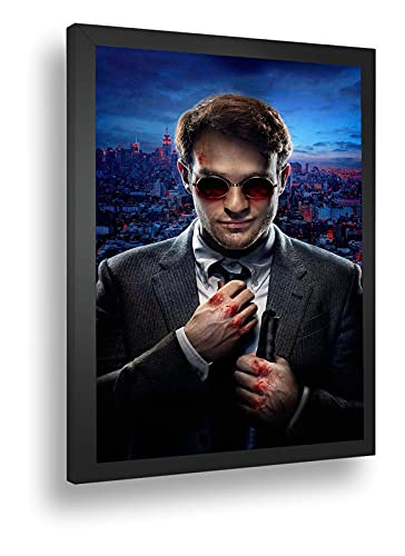 Quadro Decorativo Poster Demolidor Agente Da Shield Serie