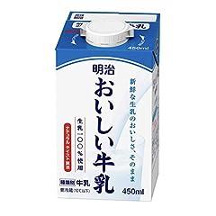 明治 おいしい牛乳 450ml 12本