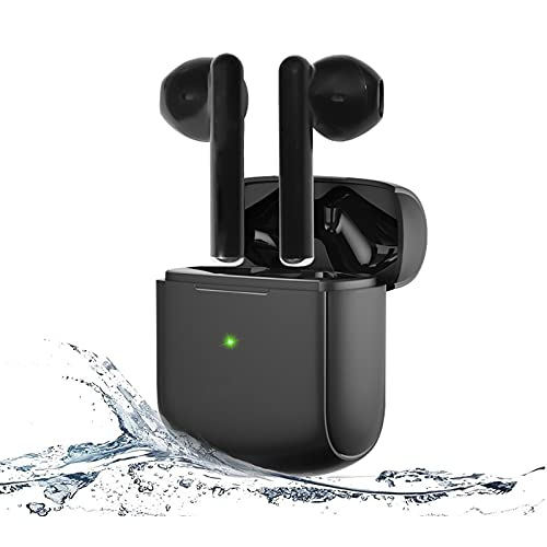Cuffie Bluetooth 5.0,Auricolari Senza Fili Sport,In-Ear Wireless Earbuds Touch Control,IPX7 Impermeabili,Bassi Profondi,Stereo HiFi,Micofono Integrato,Durata 24 Ore,Ricarica Rapida USB-C
