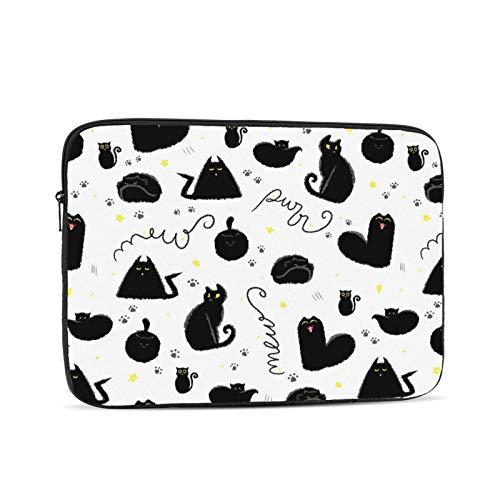 10'' 12'' 13'' 15'' 17'' Halloween Laptop Shoulder-Bag - Canvas Computer Tablet Protective Carrying Case Notebook Briefcase