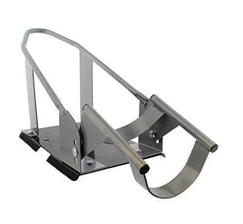 ABN Removable Trailer Wheel Chock – Universal Stopper Cradle Holder for Standard Motorcycle Bike Front Wheels