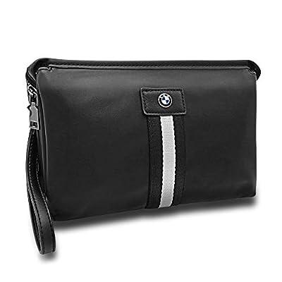 Kanouc Men's Clutch Bag Business Handbags Organizer Strap With Wrist Purse For BWM E46 E90 E39 F10 F30