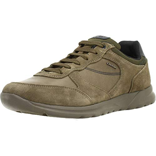 Geox Herren Modische Sneaker, Taupe, 39 EU