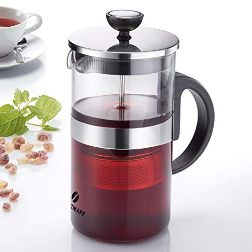 Westmark Teebereiter, 1 L, Glas/Edelstahl, Teatime, 24822260