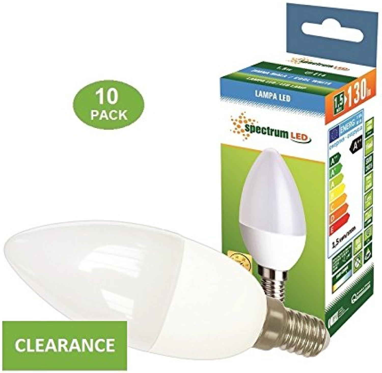 LED Lampe Kerzenform E14 1,5 Watt kaltwei