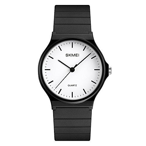 Women's Watches Ladies Quartz Watch Waterproof Wrist Watch Resin Fashion Casual Wristwatch for Girls