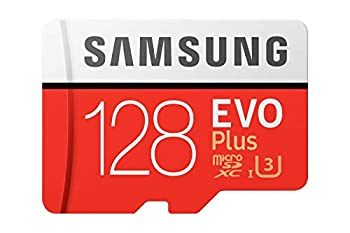 Samsung Evo Plus Class 10 UHS-I microSDXC U3 with Adapter  128GB MB-MC128GA/APC