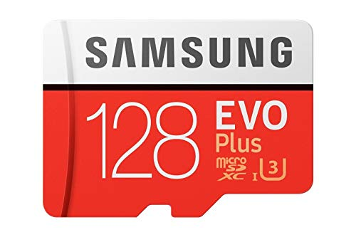 Samsung Evo plus 128GB Micro SD SDXC Class 10 memory card U3 100MB/S (MB-MC128HA APC)