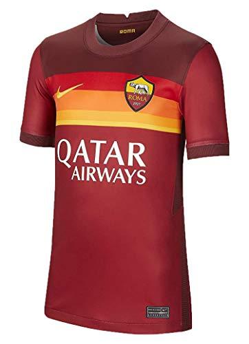 NIKE Roma M NK BRT Stad JSY SS Hm T-Shirt, Hombre, Team Crimson/Dark Team Red/University Gold Full Sponsor