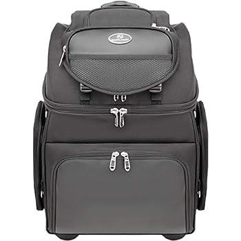 Saddlemen BR4200 Sissy Bar Street Motorcycle Tail Bags - Black/One Size