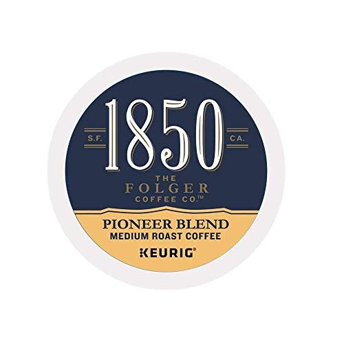 1850 Brand Coffee Pioneer Blend, Medium Roast Single Serve Capsules For Keurig K-Cup Pod Brewers, 16 Count