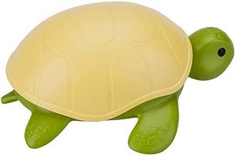 ErYao Soap Dish Cartoon Sea Turtle Covered with Laundry Soap Box Soap Soap Rack (Green)